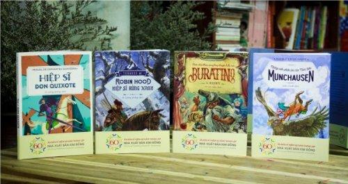 Ra mắt ấn bản mới 4 tác phẩm văn học kinh điển thế giới