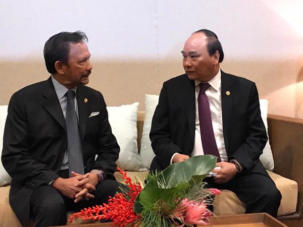 Thủ tướng Chính phủ Nguyễn Xuân Phúc đề nghị Brunei thúc đẩy đầu tư vào Việt Nam
