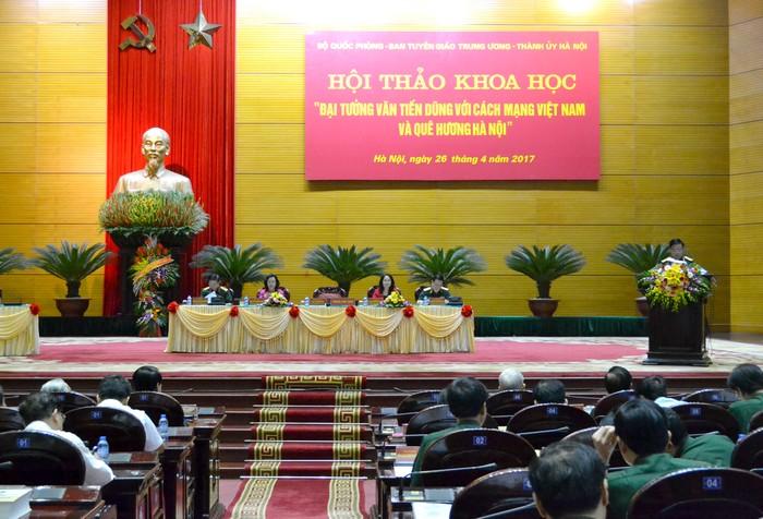 Đại tướng Văn Tiến Dũng với cách mạng Việt Nam và quê hương Hà Nội
