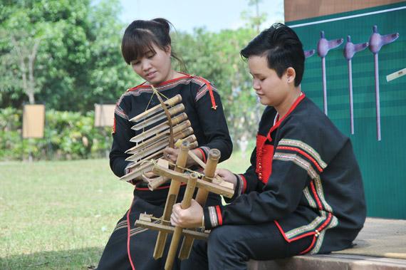 """Triển lãm, trưng bày và trình diễn """"Tre, nứa trong đời sống âm nhạc dân tộc Việt Nam"""""""