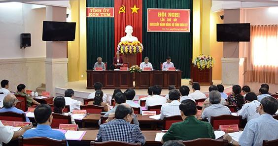Kon Tum triển khai thực hiện các Nghị quyết của Trung ương Đảng