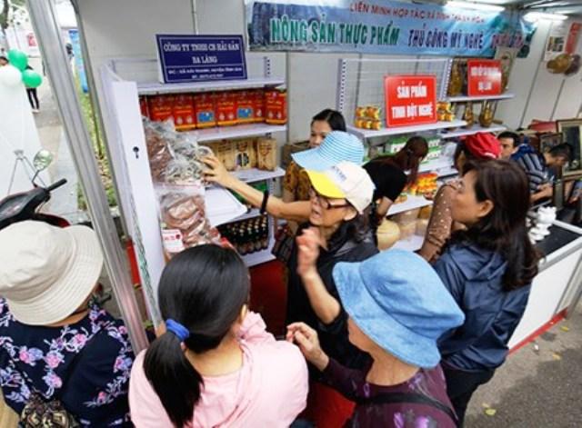 Hội chợ nông sản, tiểu thủ công nghiệp 2017