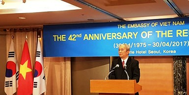 Kỷ niệm 42 năm Ngày giải phóng miền Nam, thống nhất đất nước tại Hàn Quốc