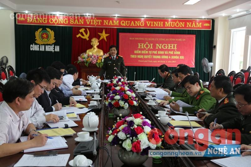 Công an Nghệ An thực hiện Nghị quyết TW 4 (khóa XII): Cái được lớn nhất là tăng sức mạnh đoàn kết