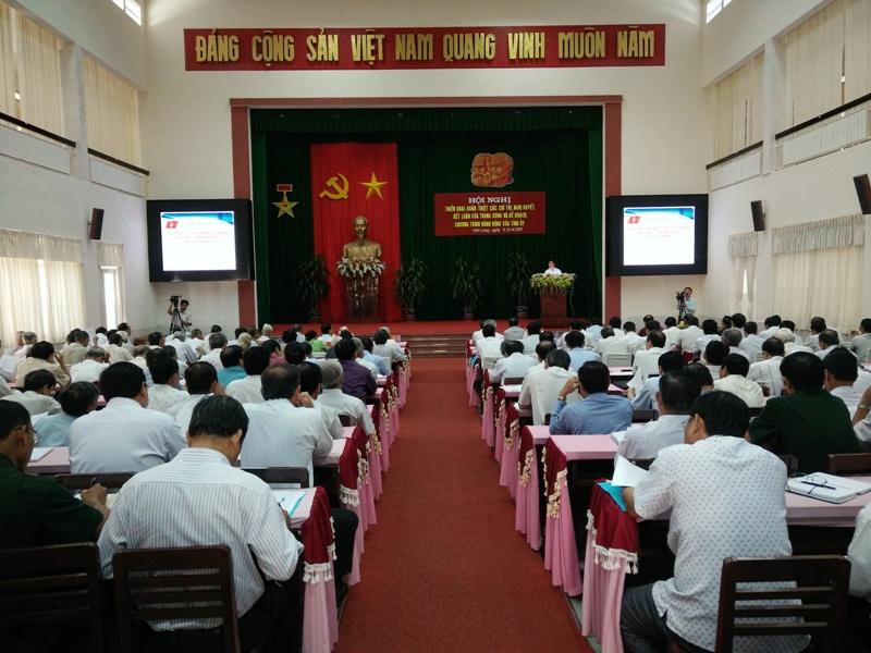Vĩnh Long triển khai học tập, quán triệt các chỉ thị, nghị quyết của Đảng