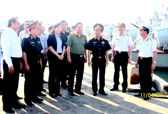 Tăng cường tuần tra, bảo vệ vững chắc chủ quyền biển, đảo trong mọi tình huống