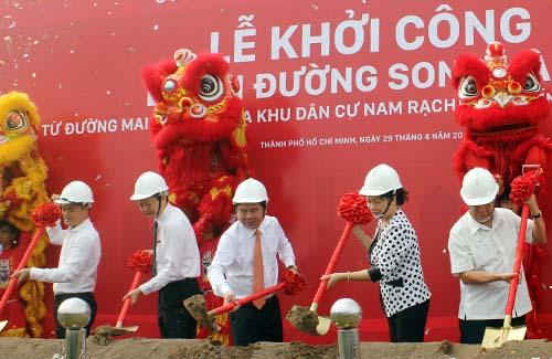 Khởi công dự án đường song hành cao tốc TP Hồ Chí Minh - Long Thành – Dầu Giây