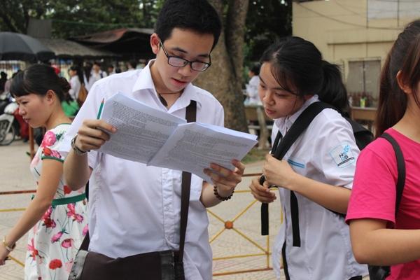 Thí sinh không được xét tốt nghiệp nếu bỏ thi bài thi tổ hợp đã đăng ký dự thi