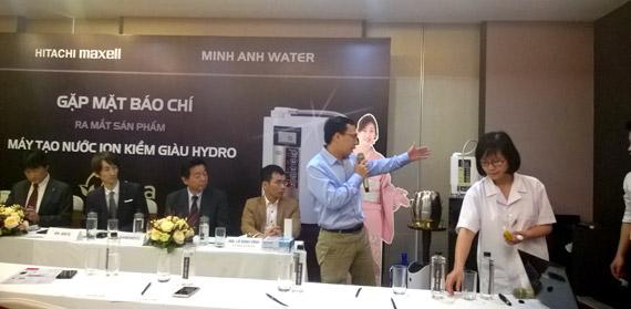 Sản phẩm máy lọc nước vì sức khỏe cộng đồng