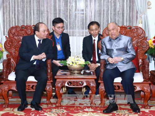Hoạt động của Thủ tướng Nguyễn Xuân Phúc tại Lào