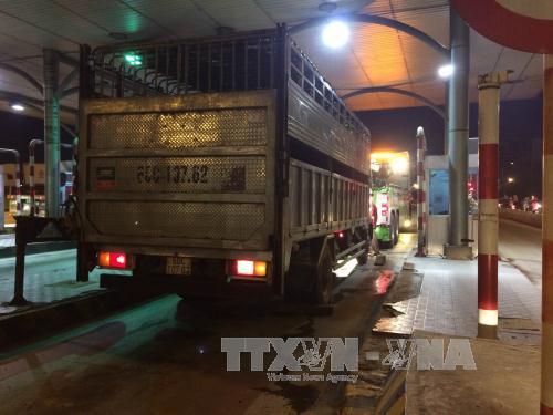 Một chiến sĩ công an giao thông Đồng Nai bị xe tải cán tử vong trong khi đang làm nhiệm vụ