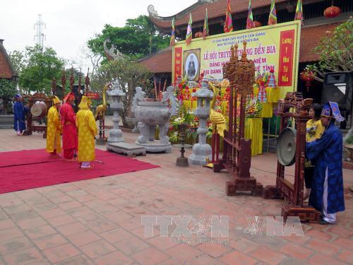 Dâng hương tưởng niệm Đại danh y thiền sư Tuệ Tĩnh