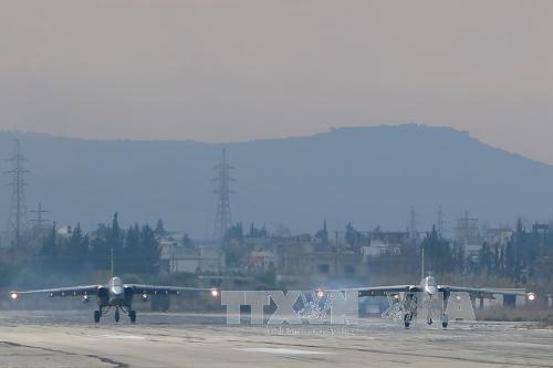 Nga rút một nửa số máy bay chiến đấu khỏi Syria