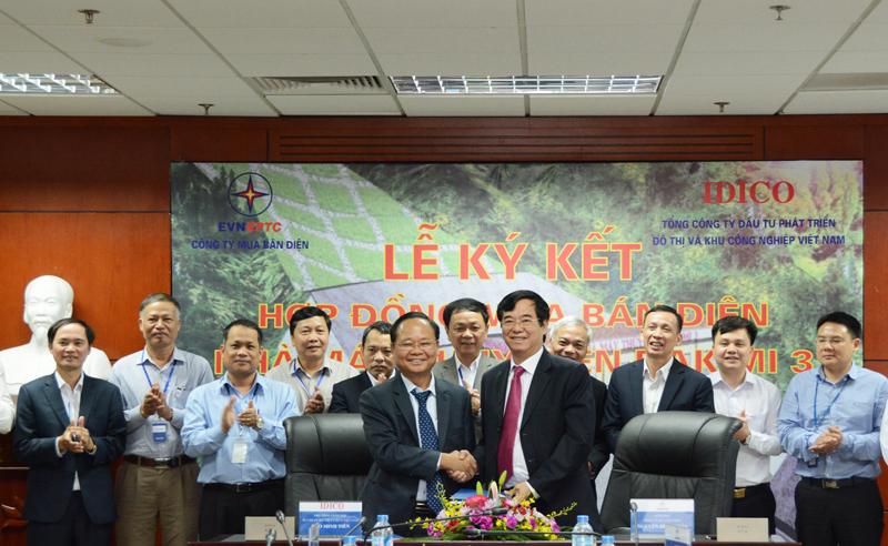 Ký hợp đồng mua bán điện Nhà máy Thủy điện Đak Mi 3