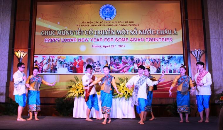 Giao lưu hữu nghị chúc mừng Tết cổ truyền một số nước châu Á