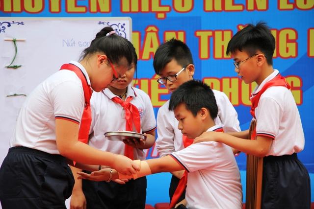 """Hà Nội: Tuyên dương """"Cháu ngoan Bác Hồ - Chủ nhân Thăng Long"""" khối tiểu học"""