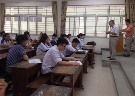 Thí sinh tự do đã tốt nghiệp được chọn các môn thi thành phần của bài thi tổ hợp