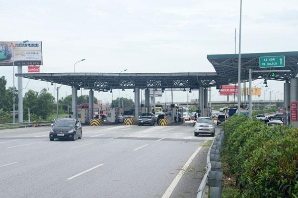 Cục Quản lý đường bộ cao tốc yêu cầu thực hiện đúng phương án tháo dỡ Trạm thu phí Đại Xuyên