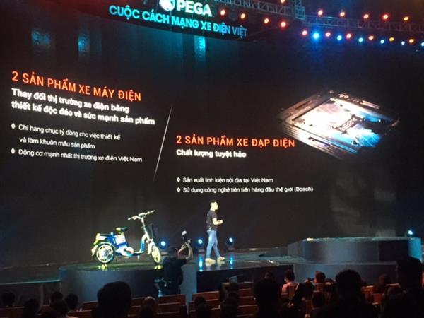PEGA ra mắt sản phẩm xe điện Việt được nội địa hóa đến 35%