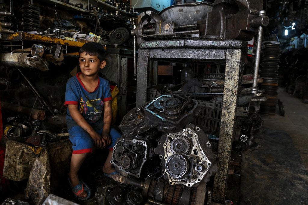 UNICEF: 1/4 trẻ em Trung Đông – Bắc Phi sống trong nghèo khổ