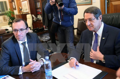 Tổng thống Cyprus kêu gọi những nỗ lực thống nhất đất nước