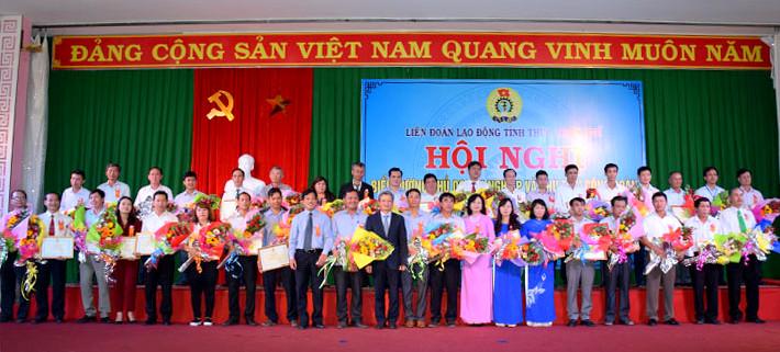 Thừa Thiên Huế: Biểu dương chủ doanh nghiệp và chủ tịch Công đoàn chăm lo đời sống người lao động