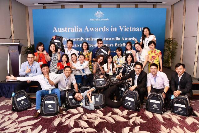 25 tân học viên học bổng Chính phủ Australia chuẩn bị lên đường