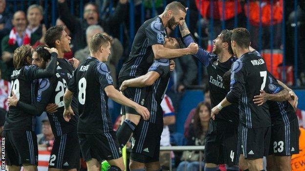 Real Madrid vào chung kết Champions League