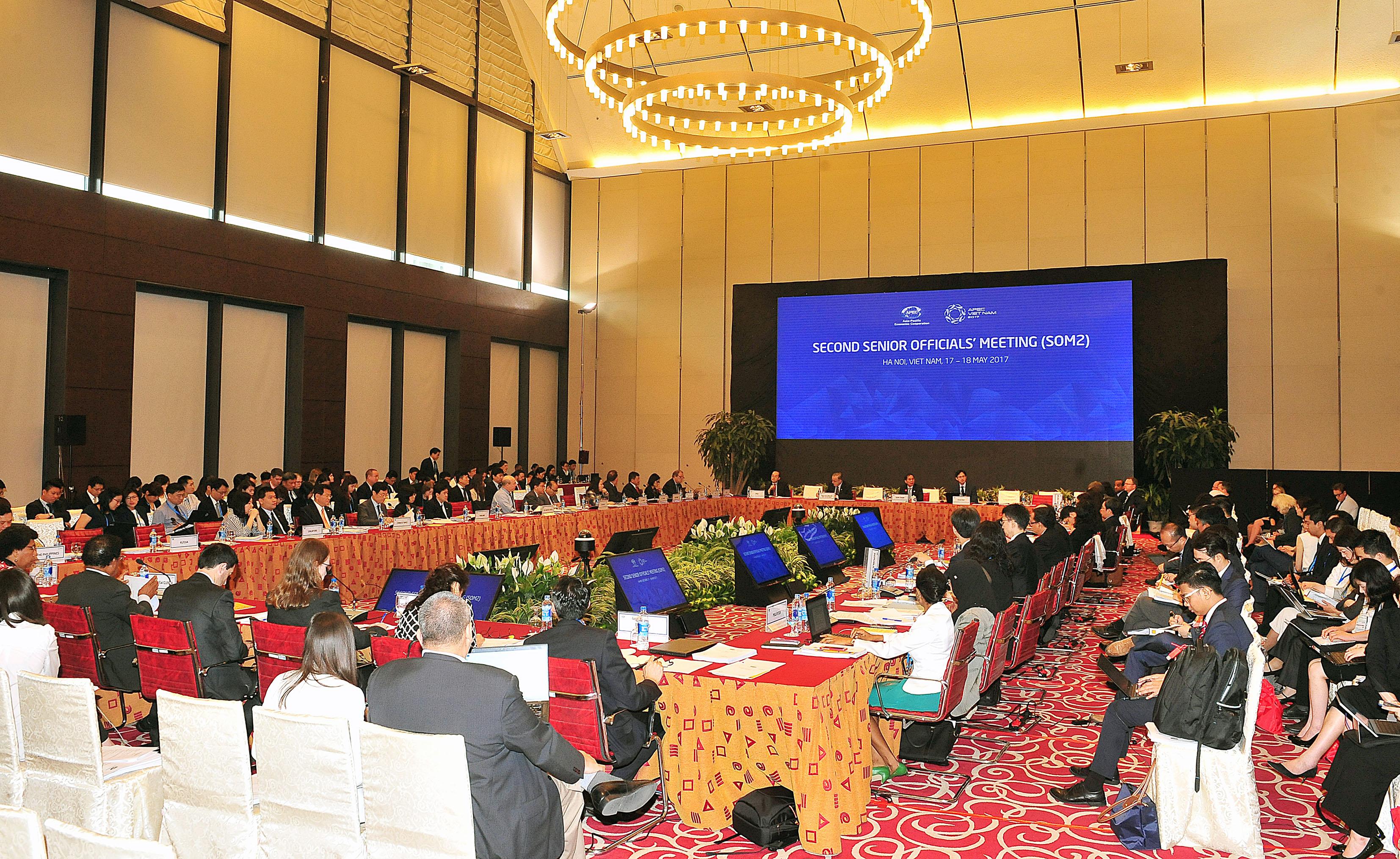 APEC Việt Nam 2017: Hội nghị lần thứ 2 các Quan chức cao cấp APEC