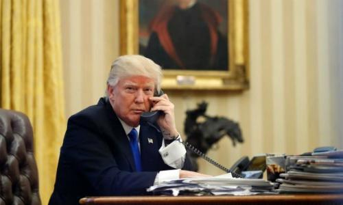 Tổng thống Mỹ tăng cường phối hợp với các đồng minh châu Á trong vấn đề Triều Tiên