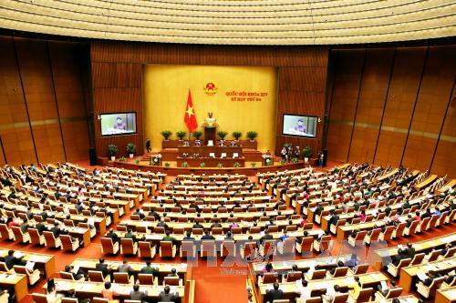 Thông cáo số 1 kỳ họp thứ 3, Quốc hội khóa XIV