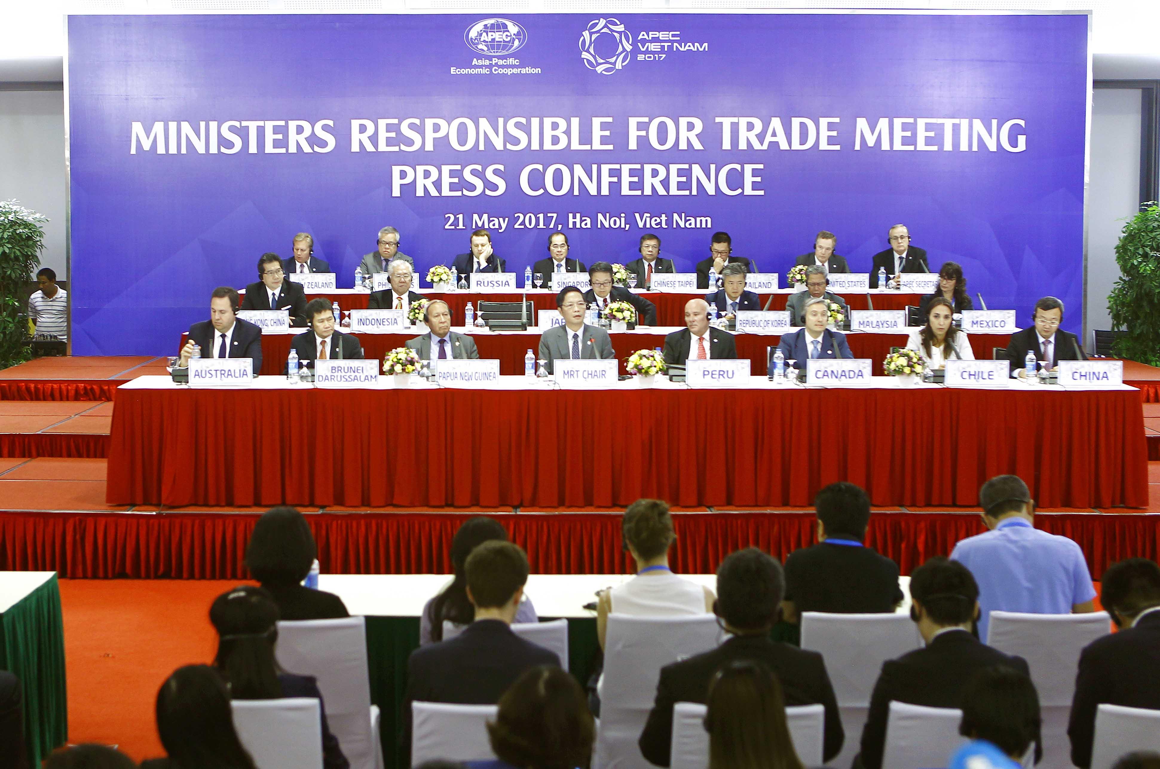 Hội nghị MRT 23 đã góp phần quan trọng thúc đẩy tiến trình triển khai chủ đề và các ưu tiên của Năm APEC 2017
