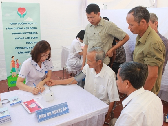 Việt Nam hưởng ứng Ngày Thế giới phòng chống tăng huyết áp 17/5