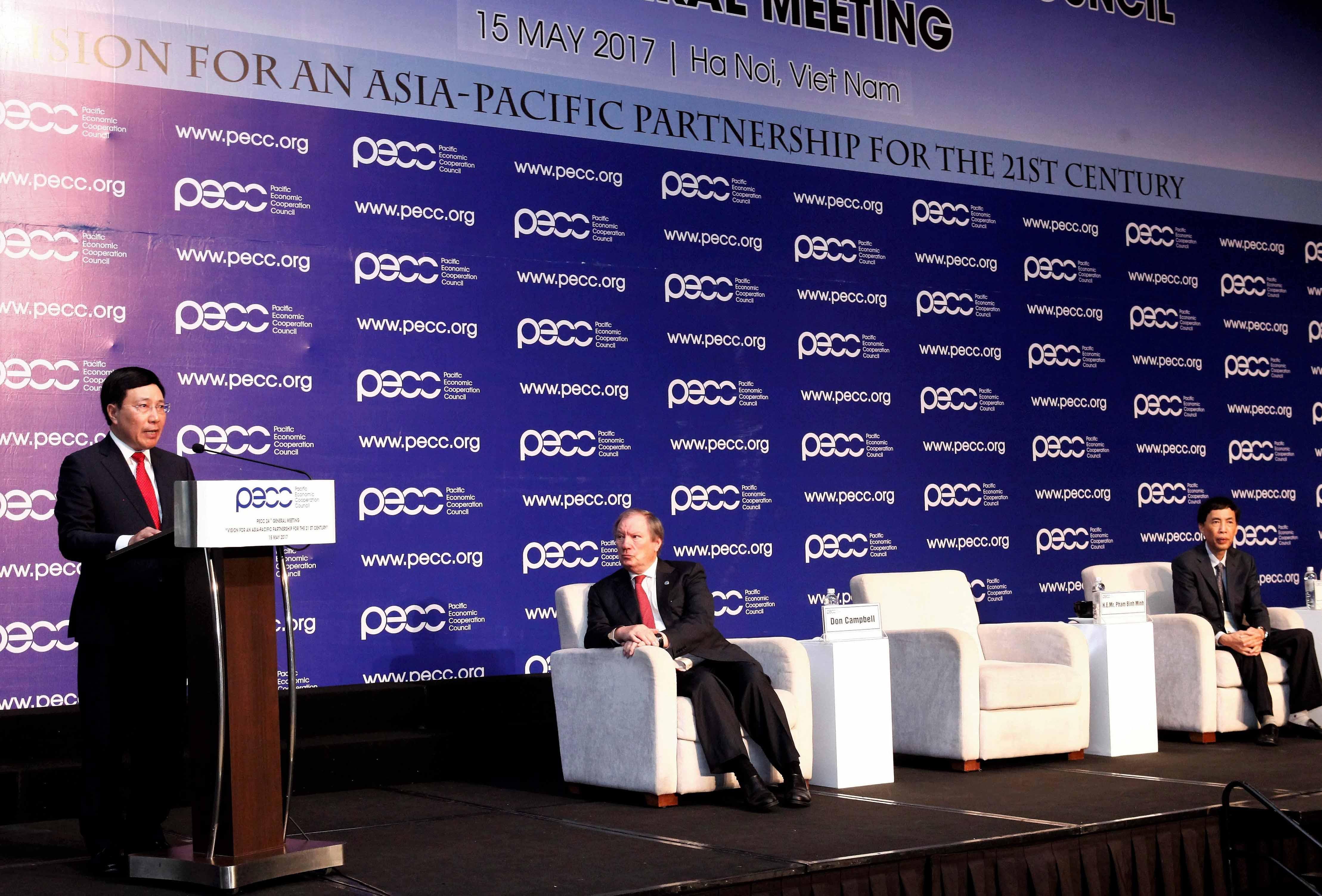 Đưa hợp tác châu Á - Thái Bình Dương ngày càng mang lại những kết quả thiết thực cho người dân và doanh nghiệp