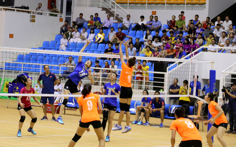 Khai mạc giải bóng chuyền trẻ toàn quốc