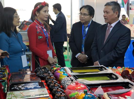 Việt Nam tham dự Hội chợ quốc tế Alger lần thứ 50