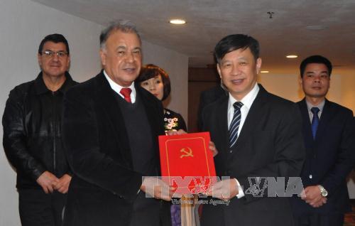 Tổng Bí thư Đảng Lao động Mexico đánh giá cao vai trò lãnh đạo của Đảng Cộng sản Việt Nam