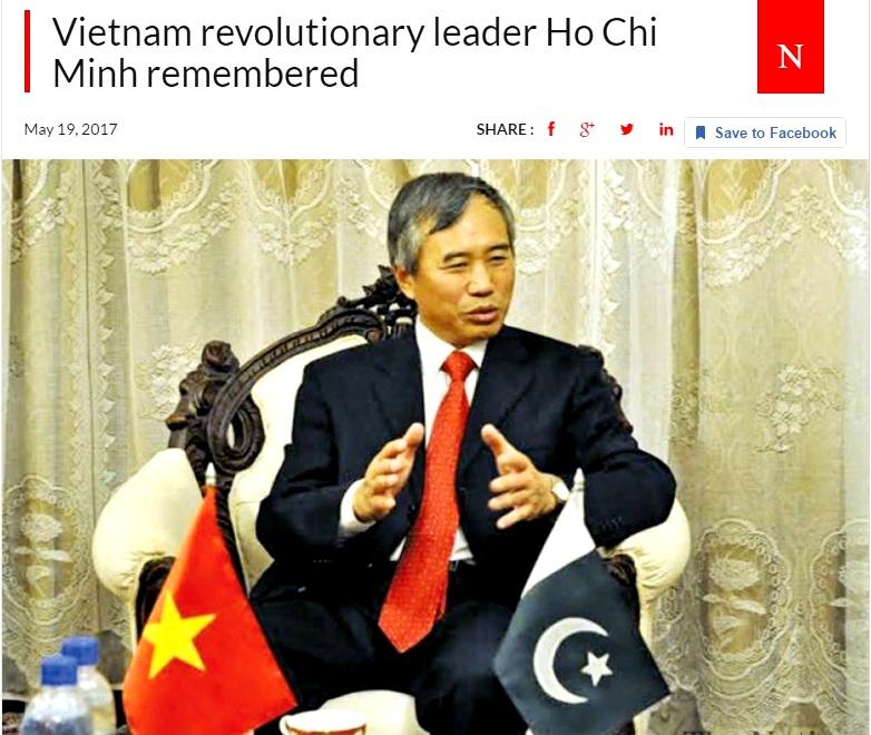 Báo Pakistan: Nhớ về nhà Cách mạng Việt Nam Hồ Chí Minh