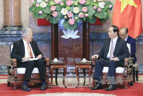 Chủ tịch nước Trần Đại Quang tiếp Bộ trưởng Thương mại Indonesia