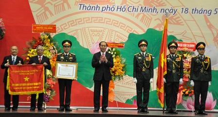 Ban Cơ yếu thống nhất Trung ương Cục miền Nam đón nhận danh hiệu Anh hùng Lực lượng vũ trang nhân dân