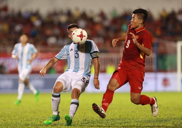 Giao hữu bóng đá quốc tế U20 Việt Nam – U20 Argentina