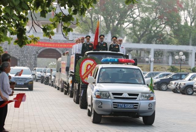 Truy điệu 30 hài cốt liệt sỹ hy sinh tại nước bạn Lào