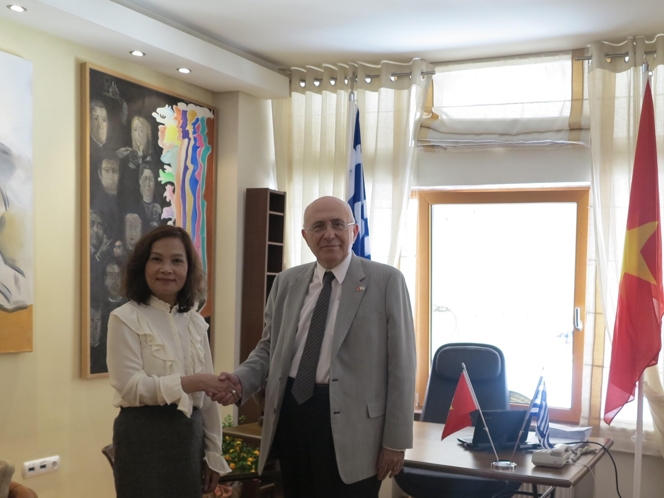 Khai trương Văn phòng Lãnh sự danh dự của Việt Nam tại thành phố Thessaloniki, Hy Lạp