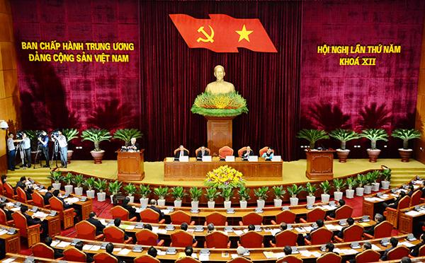 Khai mạc Hội nghị lần thứ 5 Ban Chấp hành Trung ương Đảng khóa XII