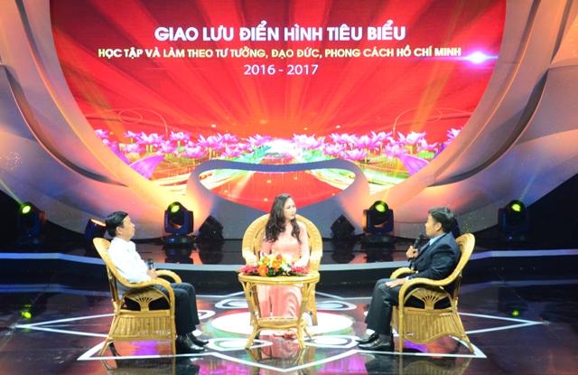 Giao lưu điển hình tiêu biểu học tập và làm theo tư tưởng, đạo đức, phong cách Hồ Chí Minh