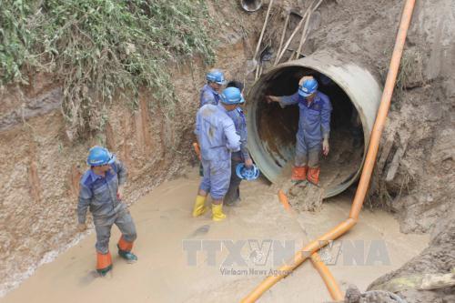 Vụ vỡ ống nước sông Đà: Khởi tố nguyên Chủ tịch Hội đồng quản trị Vinaconex