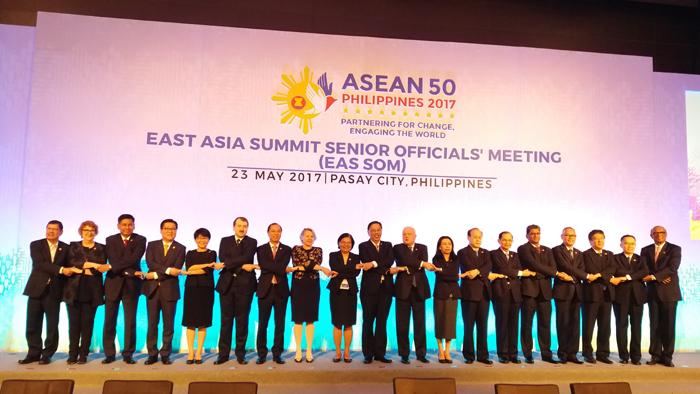 Kiểm điểm tình hình và bàn định hướng hợp tác trong các khuôn khổ ASEAN+3 và EAS