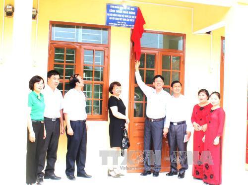 Góp sức xây dựng nhà công vụ cho giáo viên vùng sâu, vùng xa