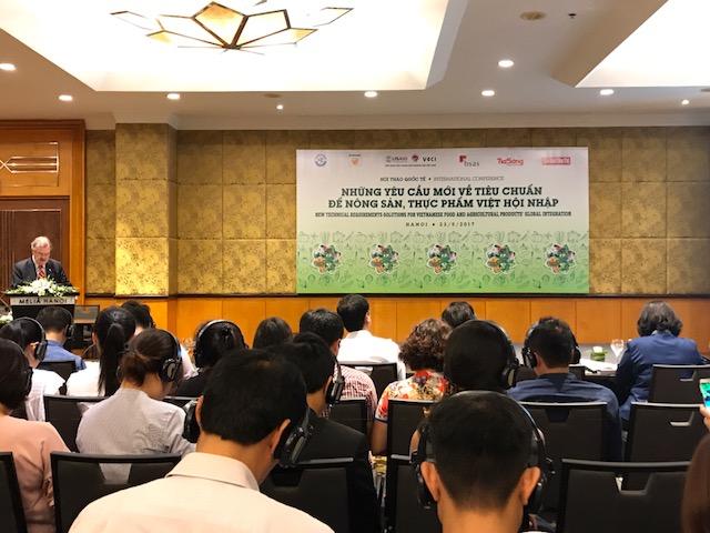 Để thực phẩm, nông sản Việt hội nhập hiệu quả