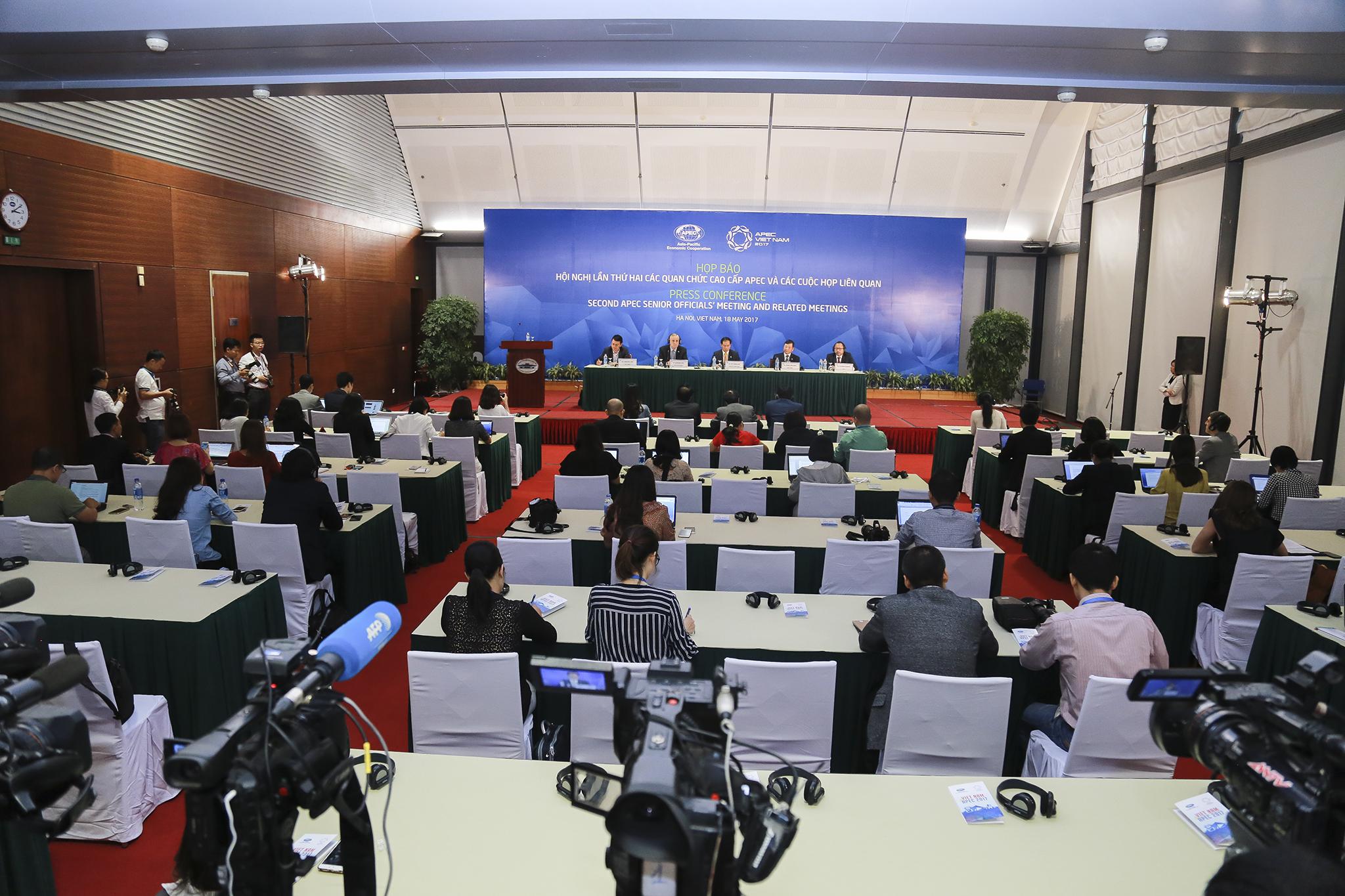 Hội nghị lần thứ hai các quan chức cao cấp APEC (SOM 2) kết thúc tốt đẹp